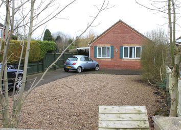 Thumbnail 3 bed detached bungalow for sale in Stow Road, Sturton By Stow