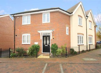 Thumbnail 3 bedroom semi-detached house for sale in Wheatcroft Way, The Sidings, Wiltshire