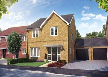 "Thumbnail 4 bed property for sale in ""The Larfield Link-Detached"" at Cotts Field, Haddenham, Aylesbury"