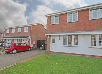 Thumbnail 3 bed semi-detached house to rent in Crestwood Close, Stretton, Burton-On-Trent