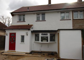 Thumbnail 3 bed semi-detached house for sale in Billet Road, Marks Gate, Romford