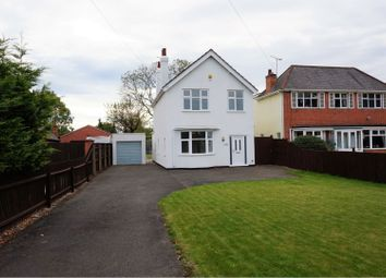 Thumbnail 3 bed detached house for sale in Hinckley Road, Leicester Forest East