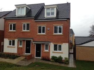 Thumbnail 3 bed town house to rent in Vallum Place, Newcastle Upon Tyne