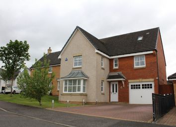 Thumbnail 5 bed detached house to rent in Brennan Crescent, Airdrie, North Lanarkshire