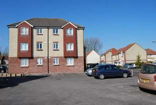 Thumbnail 1 bed flat to rent in Clare House, Deansleigh Park, Shaftesbury, Dorset
