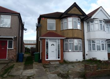 Thumbnail 3 bed semi-detached house for sale in Hartford Avenue, Kenton