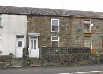 Thumbnail 2 bed terraced house to rent in Park Road, Cwmparc, Treorchy