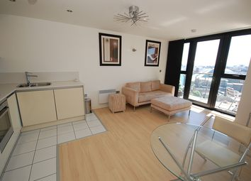 Thumbnail 2 bed flat to rent in Tempus Tower, Mirabel Street, Manchester