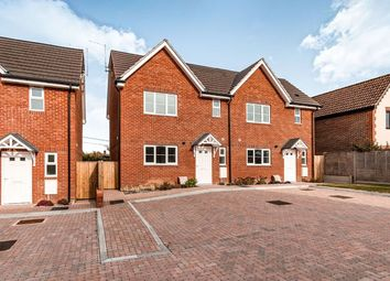 Thumbnail 3 bedroom semi-detached house for sale in Lidsey Road, Woodgate, Chichester
