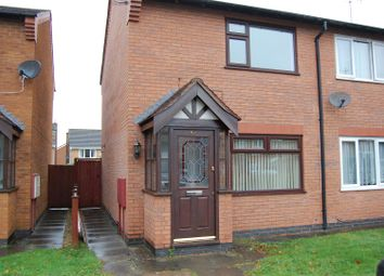 Thumbnail 2 bed semi-detached house to rent in Ascot Drive, Grantham