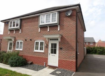 Thumbnail 3 bed property to rent in Tacitus Way, North Hykeham, Lincoln