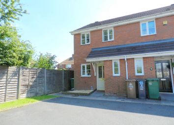 Thumbnail 2 bed end terrace house for sale in Claverdon Close, Brownhills, Walsall