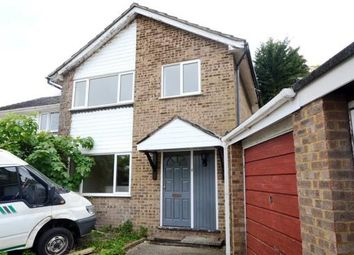 Thumbnail 3 bedroom detached house for sale in Hampton Close, Church Crookham, Fleet