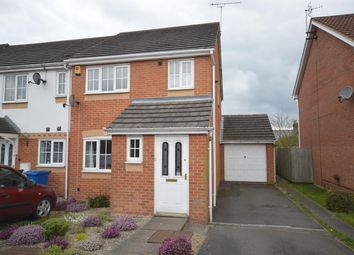 Thumbnail 3 bedroom town house for sale in Rempstone Drive, Chesterfield