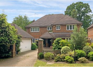 Thumbnail 6 bed detached house for sale in Brackendale Road, Camberley