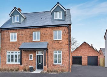 Thumbnail 5 bed detached house for sale in Plot 202, The Hunsden, Heyford Park