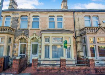 Thumbnail 3 bed terraced house for sale in Penhevad Street, Cardiff