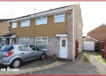 Thumbnail 4 bedroom semi-detached house for sale in Epsom Close, Cardiff