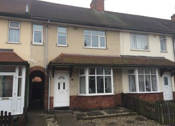 Thumbnail 3 bedroom terraced house for sale in Railway Street, Wigston, Leicester