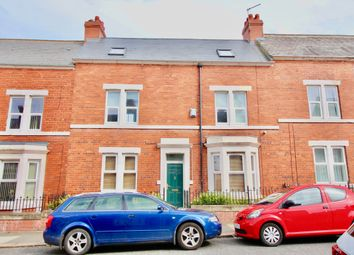 Thumbnail 4 bed terraced house for sale in Wingrove Avenue, Newcastle Upon Tyne