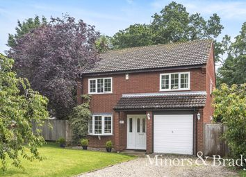 Thumbnail 4 bed detached house for sale in Bircham Road, Reepham, Norwich