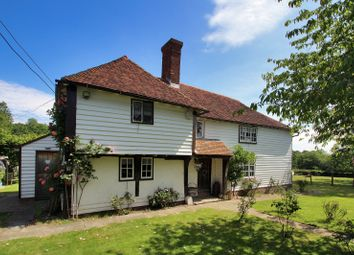 Thumbnail 4 bed country house for sale in Goddard's Green Road, Benenden, Cranbrook