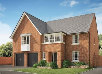 "Thumbnail 5 bed detached house for sale in ""Hatherley"" at Wookey Hole Road, Wells"