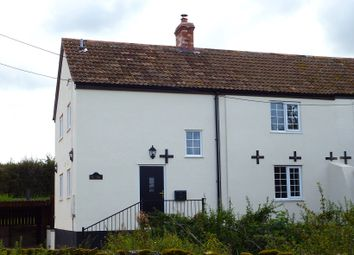 Thumbnail 3 bed cottage to rent in Huntham, Stoke St Gregory
