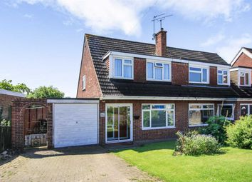 Thumbnail 3 bed semi-detached house for sale in Coleridge Drive, Enderby, Leicester