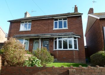 Thumbnail 3 bedroom semi-detached house for sale in St. Johns Road, Exmouth