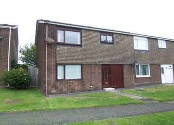 Thumbnail 4 bedroom semi-detached house for sale in Annitsford Drive, Dudley, Cramlington