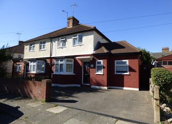 Thumbnail 3 bed semi-detached house for sale in Leighton Road, Enfield