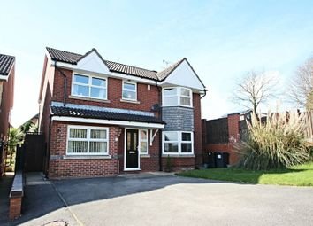 Thumbnail 4 bedroom detached house for sale in Burnwood Grove, Kidsgrove, Stoke-On-Trent