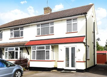 Thumbnail 3 bed semi-detached house for sale in Lodge Close, Fetcham, Leatherhead