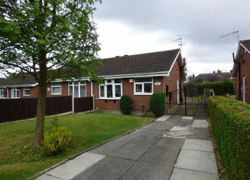 Thumbnail 1 bed semi-detached bungalow for sale in Bateman Avenue, Brown Lees, Stoke-On-Trent