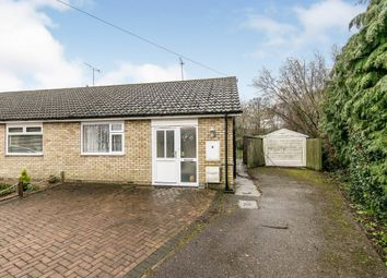 Thumbnail 2 bed terraced bungalow for sale in St. Thomas Close, Colchester