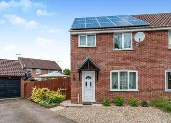 Thumbnail 3 bed semi-detached house for sale in Spiers Way, Roydon, Diss