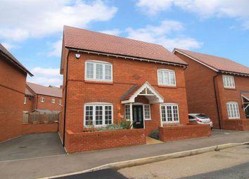 Thumbnail 3 bed detached house for sale in Danegeld Avenue, Great Denham, Bedford
