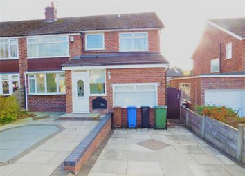 Thumbnail 4 bed semi-detached house to rent in Grasmere Crescent, High Lane, Stockport