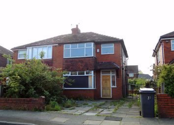 Thumbnail 3 bed semi-detached house for sale in Hawthorn Road, Droylsden, Manchester