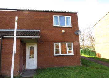 Thumbnail 2 bed end terrace house for sale in Paddington Walk, Walsall
