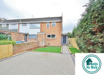 Thumbnail End terrace house for sale in Collwood Close, Oakdale, Poole