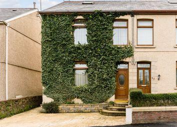 Thumbnail 4 bedroom semi-detached house for sale in Heol Y Parc, Swansea, Sir Gaerfyrddin