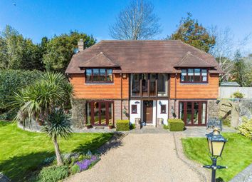 Thumbnail 4 bed detached house for sale in Firle Road, Seaford