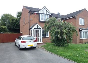 Thumbnail 2 bed end terrace house for sale in Shelley Drive, Erdington, Birmingham