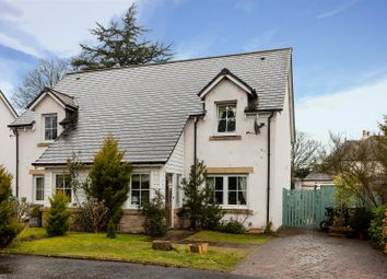 Thumbnail 3 bed semi-detached house for sale in Moss End Place, Aberuthven, Auchterarder