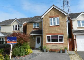 Thumbnail 3 bed detached house to rent in Maes Dewi Pritchard, Bridgend