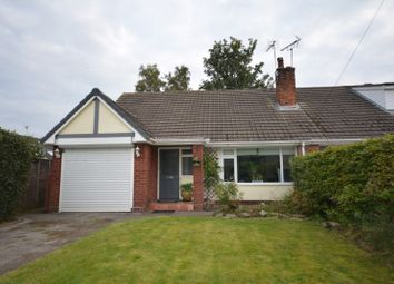 Thumbnail 1 bedroom bungalow to rent in St. Oswalds Crescent, Brereton, Sandbach