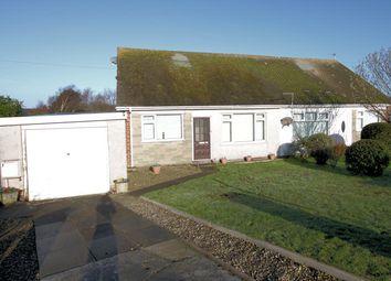 Thumbnail 2 bed semi-detached bungalow for sale in Ffordd Dyfrigt, Tywyn Gwynedd