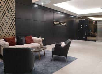 Thumbnail 1 bed flat to rent in Neroli House, Piazza Walk, Goodmans Fields, Aldgate, London